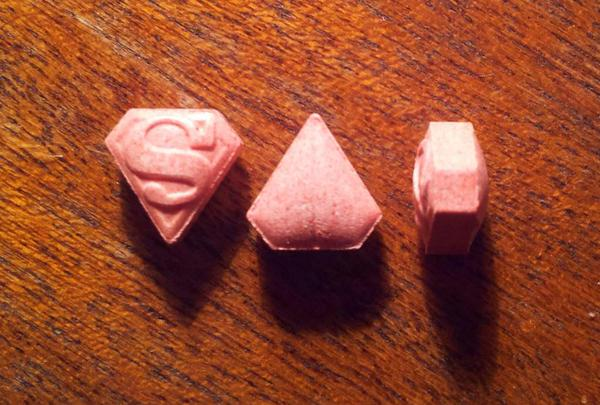 Éxtasis MDMA Superman