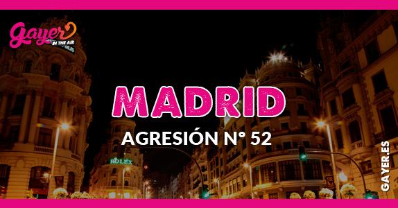 AGRESIÓN Nº52 EN MADRID