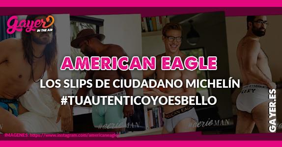 AMERICAN EAGLE – Los slips de ciudadano michelín