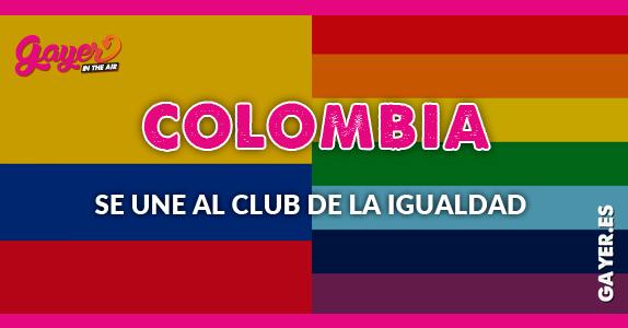 El matrimonio igualitario llega a Colombia