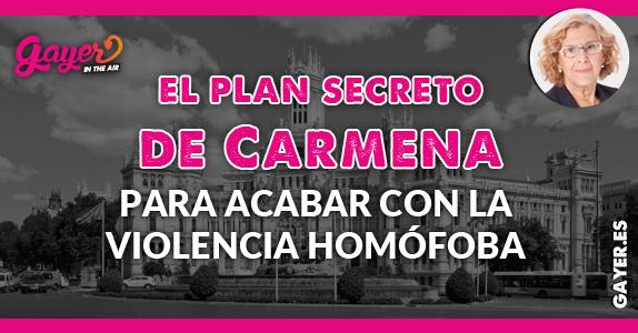 PLAN SECRETO DE MANUELA CARMENA
