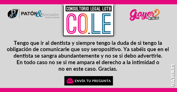 VIH | COLE CONSULTORIO LEGAL LGTB