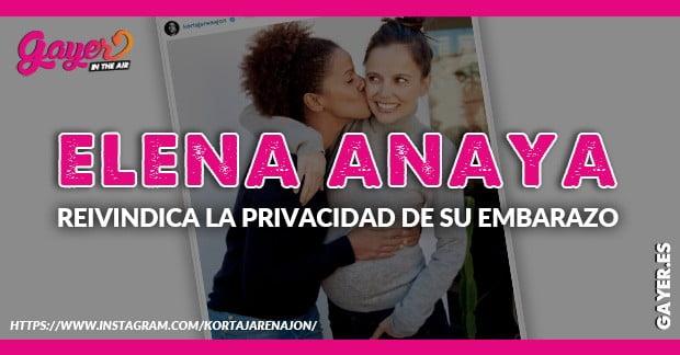 ELENA ANAYA EMBARAZADA