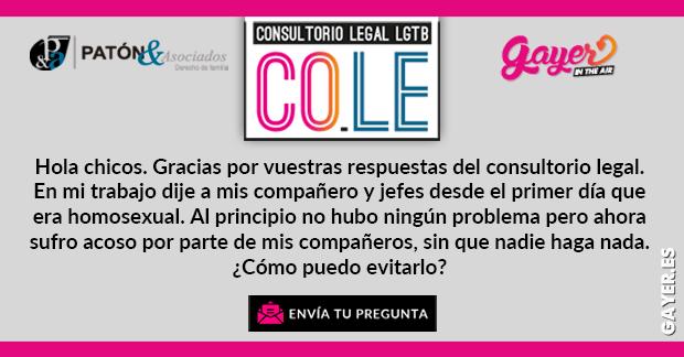 DISCRIMINACIÓN POR SER GAY | COLE CONSULTORIO LEGAL LGTB