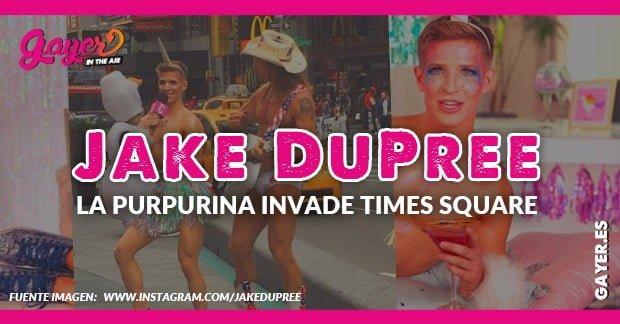 Jake DuPree: el unicornio de la brillantina