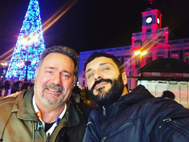 Frank Romero y Paco san jose eran amigos
