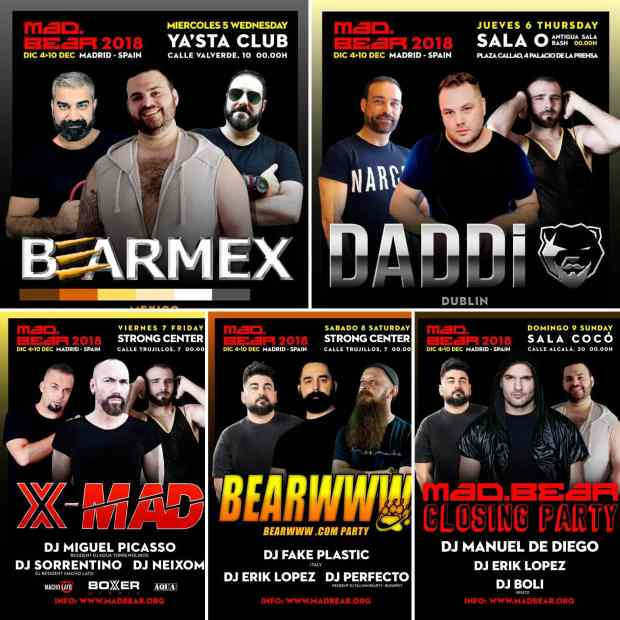 Carteles de Mad Bear