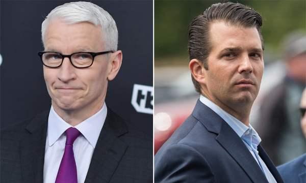Anderson Cooper Debunks Trump Jr.'s Fake News Claim - Gayety