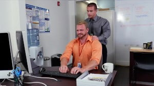GRABASS – 9 To 5 Is So Much More Fun With Gay Office Shenanigans
