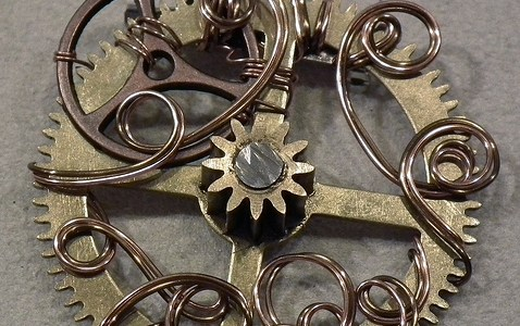Clock Part Pendants