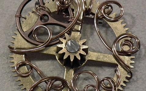 Clock Part Pendants
