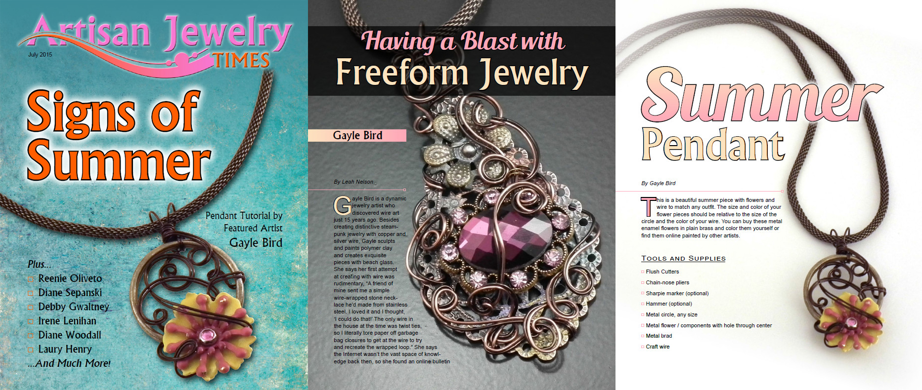 Artisan Jewelry Times – Featured Artist