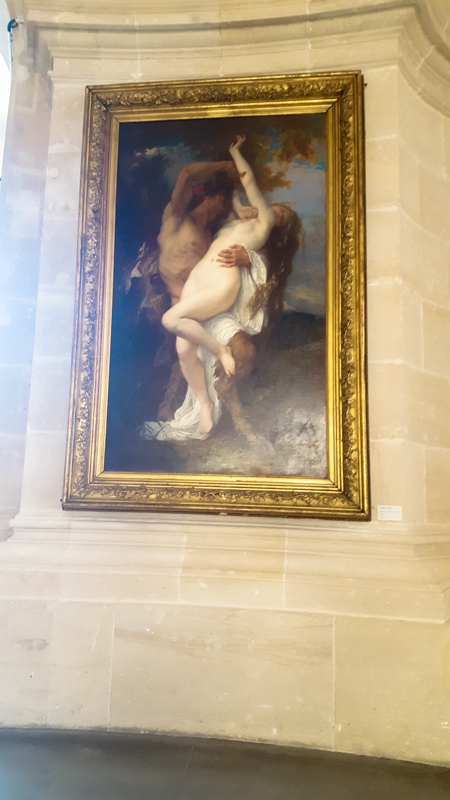 """Nymph Abducted by a Faun"", by Alexandre Cabanel"