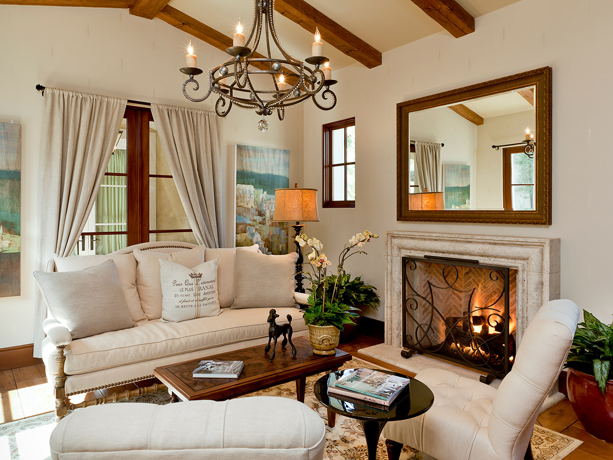 34+ French Country Style Living Room Gif