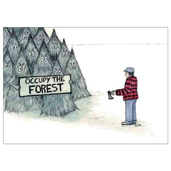 Occupy The Forest