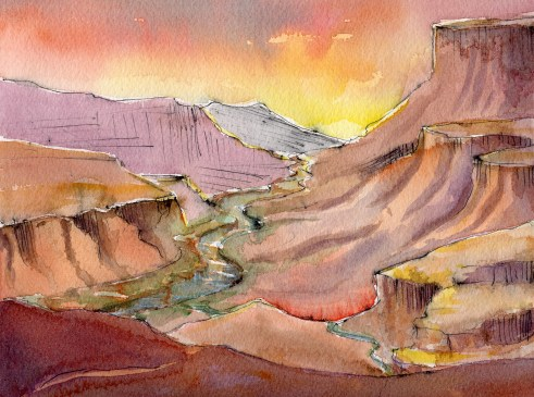 Canyon in Color