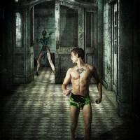 Asylum - gay art male art by Michael Taggart Photography