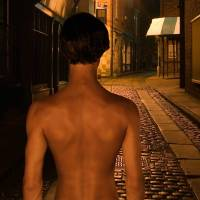 Young Sherlock Holmes - gay art male art by Michael Taggart Photography