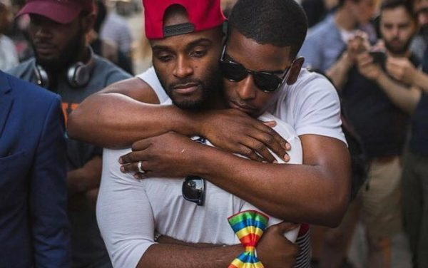 Black gay male love