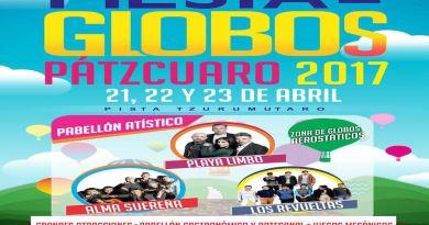 Fiesta de Globos Pátzcuaro 2017