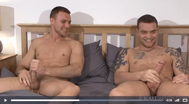 Andy Lee and Bailey Morgan fleshlight wanking