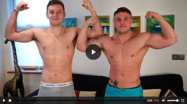 straight guy sucks another straight guy's cock