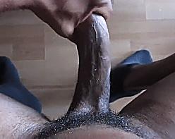 Piroca de negro pronta pra rasgar um cu