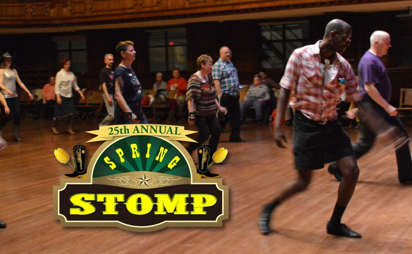 Line Dancing at GFP's Spring Stomp! A Hoedown in P-town
