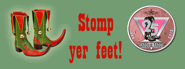 Stomp yer feet graphic