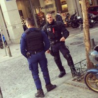 Hot Cops in Athens