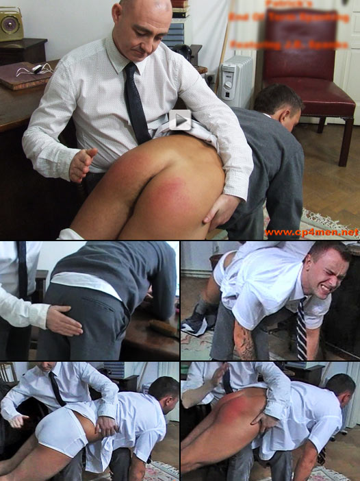 schoolyard bully gets a taste of bare ass corporal punishment