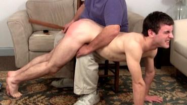 gay hairbrush spanking