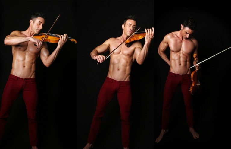 GayTalk 2.0 – Episode 129 – Two Hits and a Miss with the Shirtless Violinist