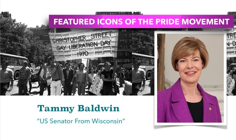 PRIDE ICON SPOTLIGHT – TAMMY BALDWIN