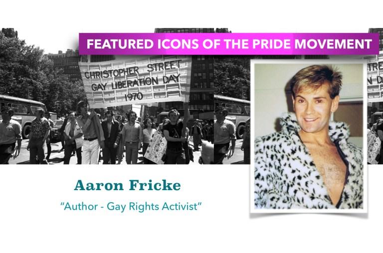 PRIDE ICON SPOTLIGHT – ARRON FRICKE
