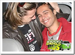 BRAZIL BUS - PICKING UP GUYS WHEREEVER WE CAN!