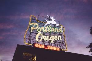 Portland Sign PR