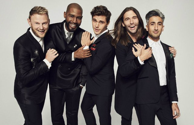The new Queer Eye cast