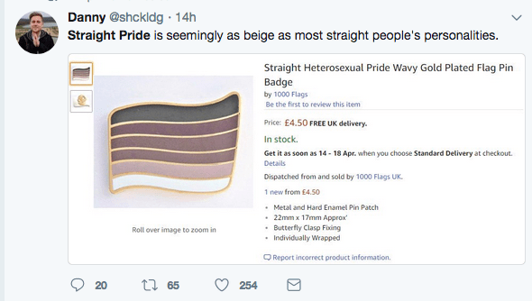 Heterosexuality pride flag