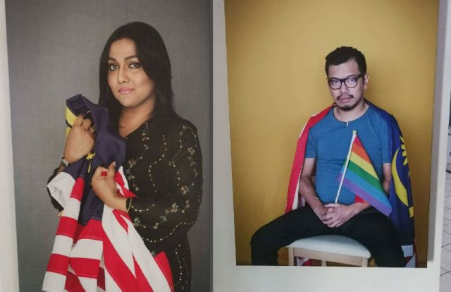 LGBTI photos removed from expo