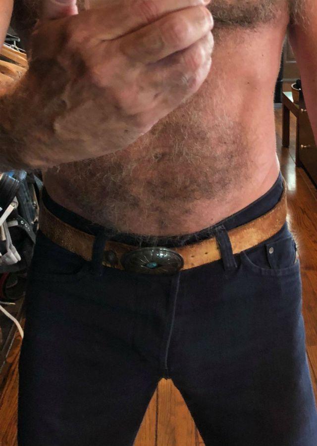 Tom's belt