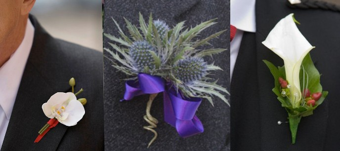 Gay Wedding Flowers For Grooms And Male Couples