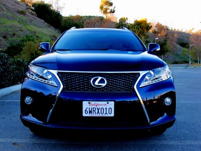 2013 Lexus RX350 F-Sport (photo by James Hamel)