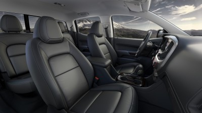2015 GMC Canyon Interior Profile from Passenger Side