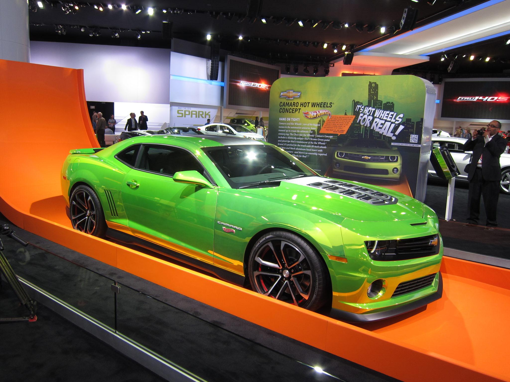 Chevrolet Camaro, Hot Wheels Edition, 2012 Detroit Auto Show