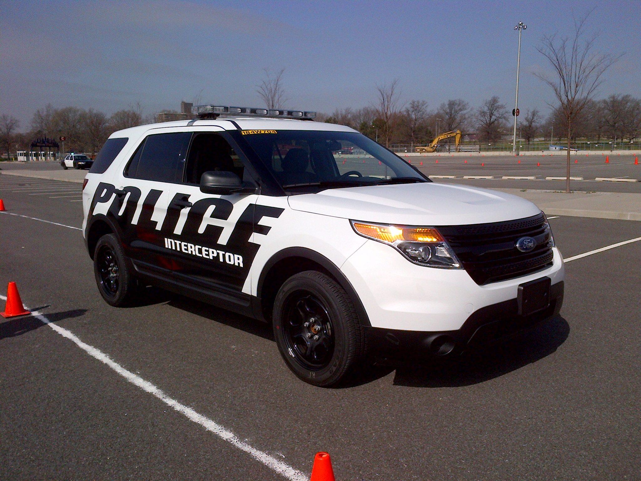 Ford's new Police Interceptor
