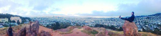 Corona Heights Park, San Francisco, California
