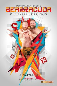 Provincetown Bear Week 2015, Bearracuda poster