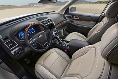 2016 Ford Explorer Platinum in Medium Soft Ceramic