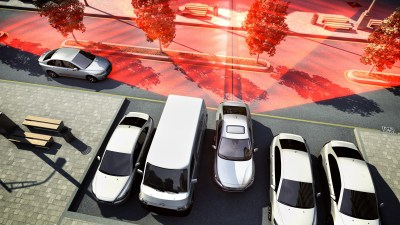 Volvo's Rear Cross Path Detection